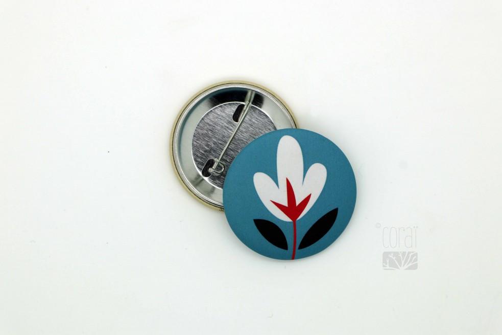 Badge poire d'automne