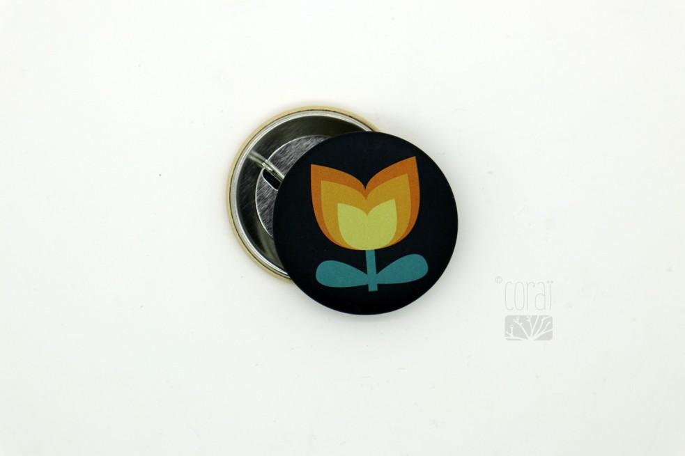 Badge petite libellule