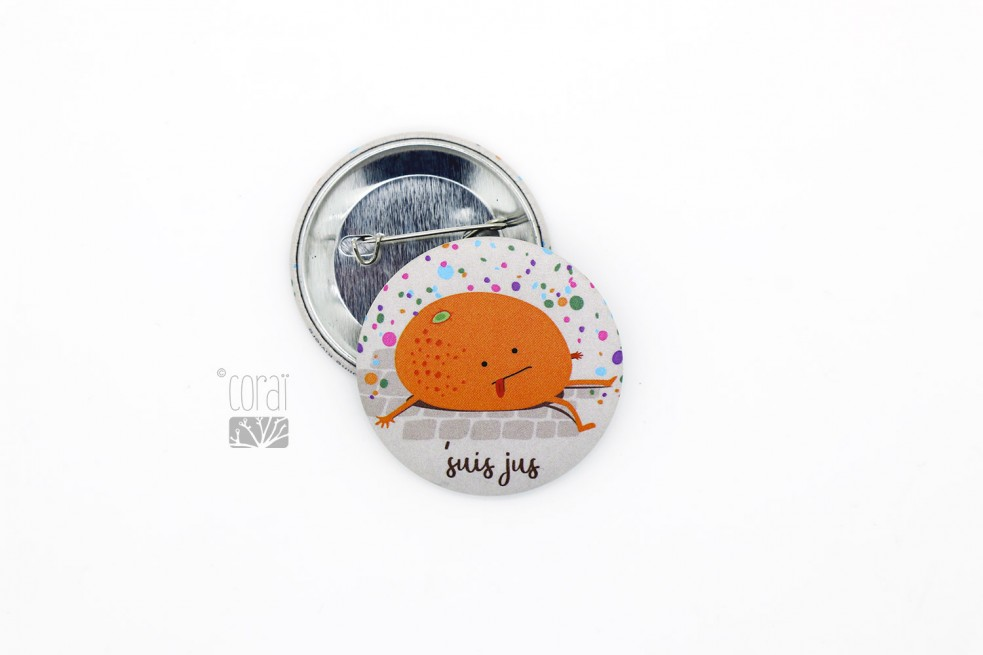 Badge petit Gille de Binche