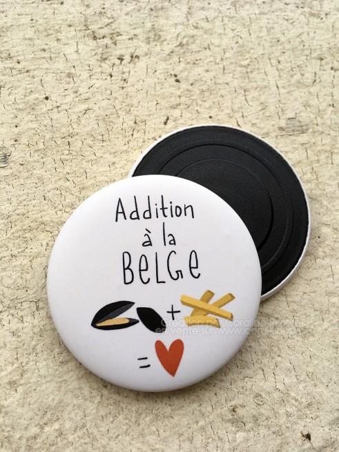 Magnet Belgique petite mais costaude