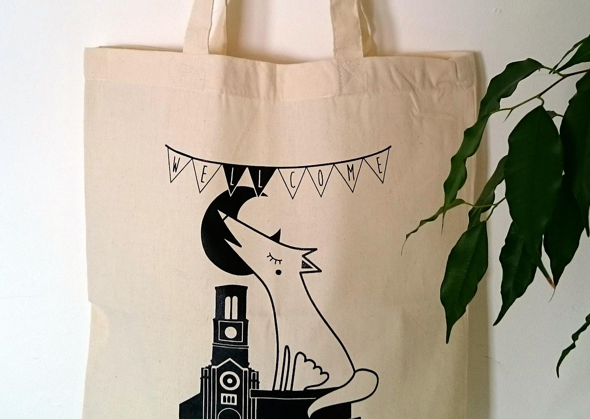 Création merchandising graphiste Coraline Rivière